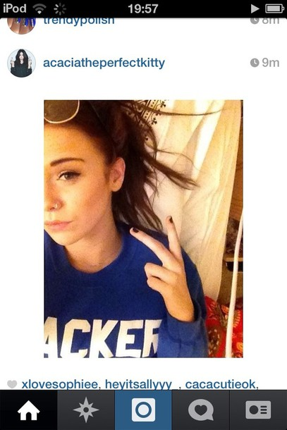 sweater acacia brinley acacia brinley acacia brinley madeline childhood blue sweater children's literature