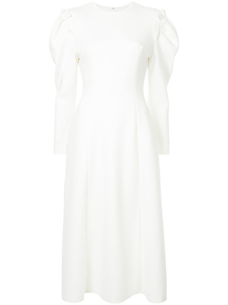 Irene dress midi dress women midi white