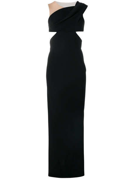 Rick Owens gown women black dress