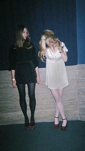 dress,grunge,tumblr,pastel goth,pastel,goth hipster,soft grunge,black,velvet,silk,shoes,skirt,velvet shoes