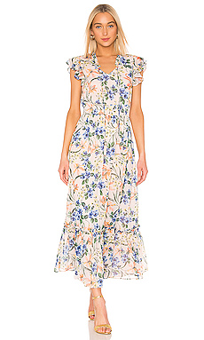 House of Harlow 1960 X REVOLVE Suus Dress in Blush Mixed Floral from Revolve.com