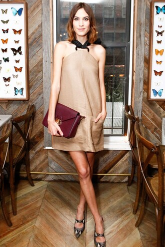 dress pumps alexa chung cocktail dress