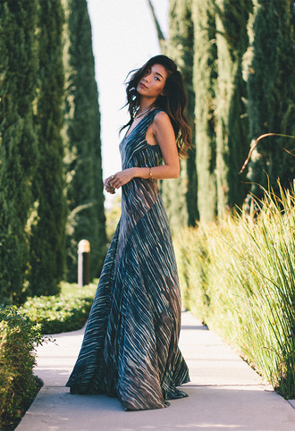 honey n silk blogger maxi dress print