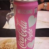 nail accessories,pink,white,black,moshino,style,silver,drink coca cola,drinking,coca cola