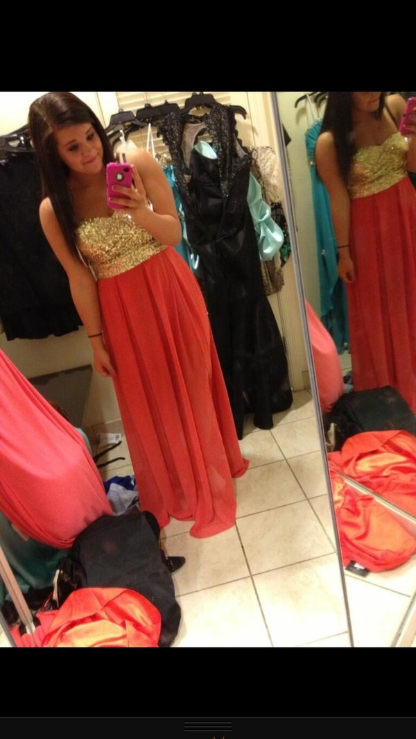 B Darlin Juniors Dress, Strapless Sequin Illusion Gown - Dresses ...