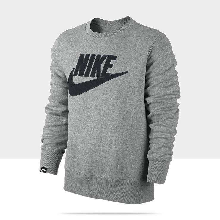 Nike store. nike brushed men's sweatshirt