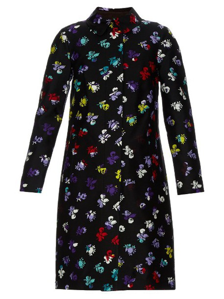 Diane Von Furstenberg coat black