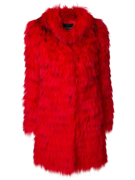 Ermanno Ermanno coat fur coat fur women