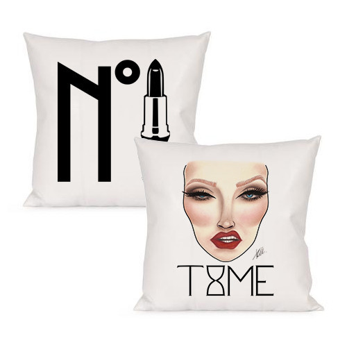 Decorative Pillows Makeup : MAKEUP DECORATIVE PILLOW