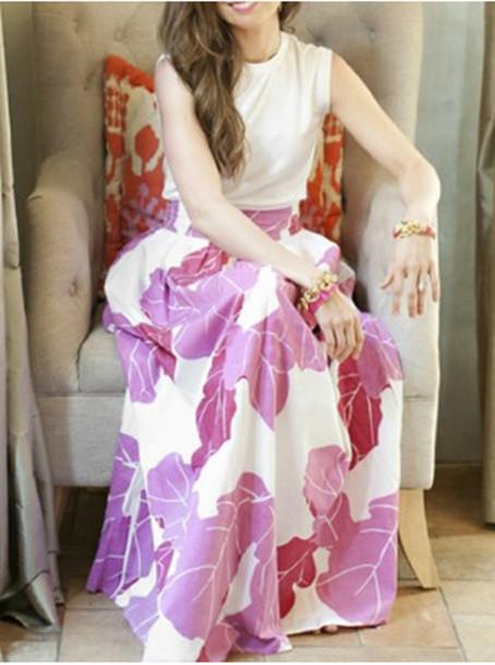 skirt maxi skirt