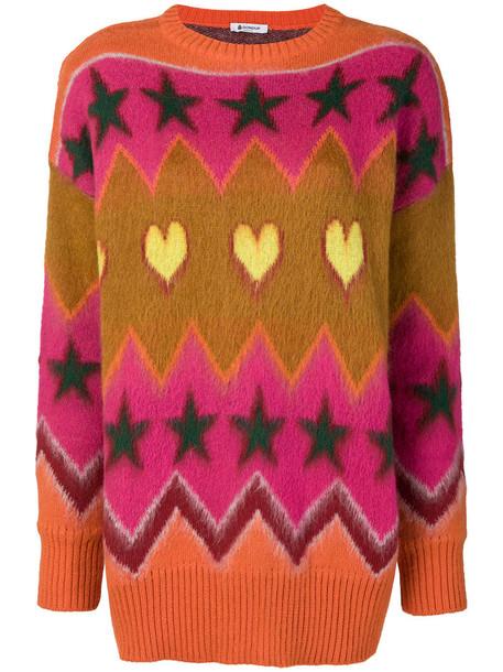 sweater women jacquard mohair wool