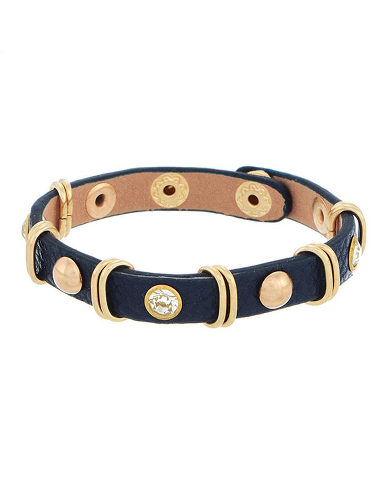 Kora Navy Layering Bracelet