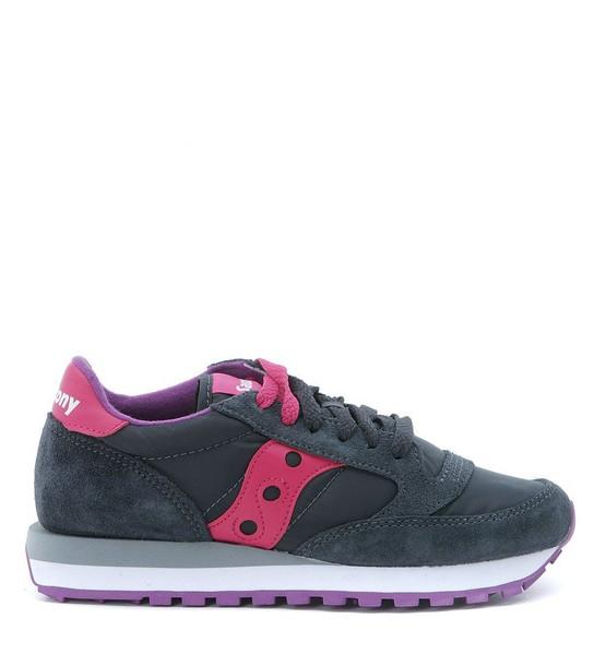 Saucony sneakers suede grey shoes