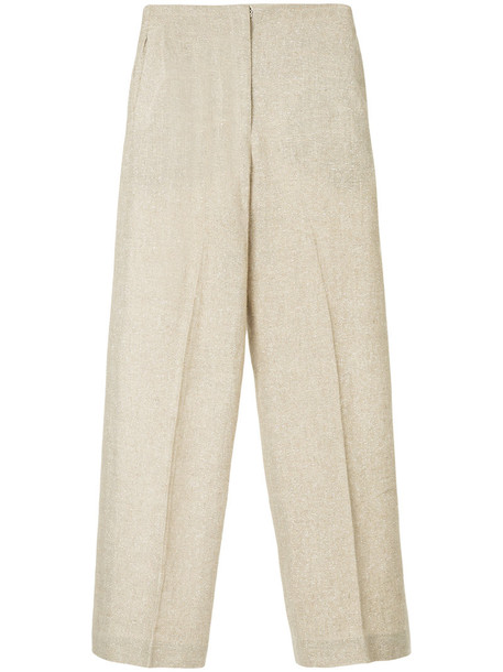 Bambah sparkle women brown pants