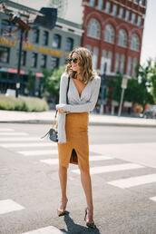 hello fashion,blogger,top,skirt,bag,shoes,sunglasses,jewels,leopard heels,high heel pumps,pencil skirt,fall outfits