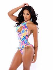 The Hawaiian Halter Swimsuit