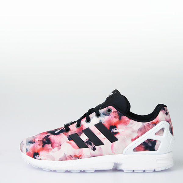6bfb750d KID'S ADIDAS ZX FLUX K FLORAL PINK | Chicago City Sports