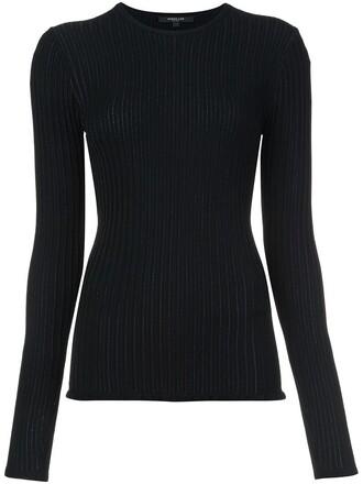 jumper fine knit jumper knit women black sweater