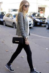 the blonde salad,shoes,jeans,shirt,jacket,bag,sunglasses
