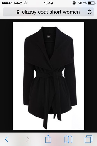 coat trench coat black coat short coat jacket classy classy coat black jacket clasy jacket cozy cute jacket outwear