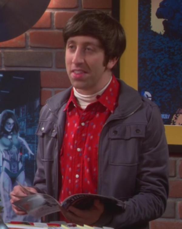 simon helberg big bang theory mens shirt