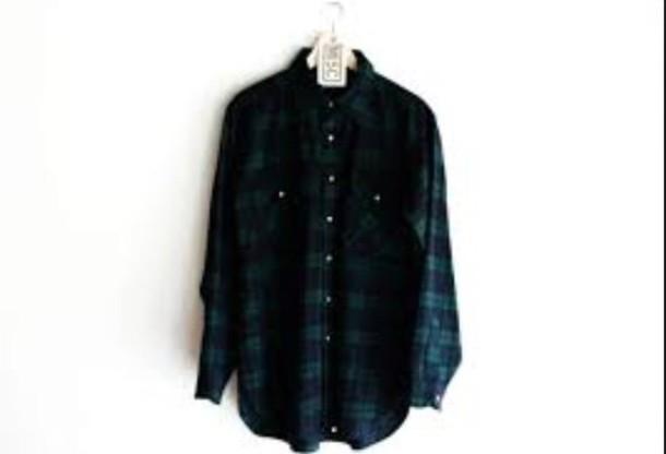 shirt dark green