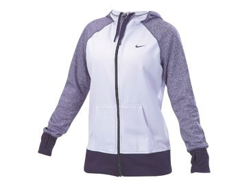 Nike Women's All-Time Full-Zip Hoodie Cold Weather Tops & Vests