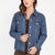 Original Classic Denim Boyfriend Jacket BLUE - GoJane.com