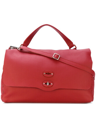 women bag tote bag leather red
