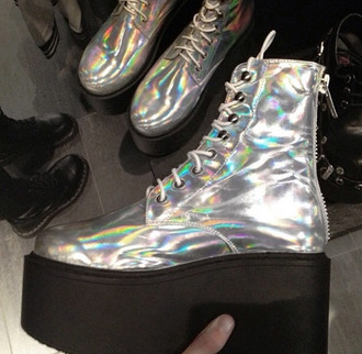 Holographic Boots Shop For Holographic Boots On Wheretoget