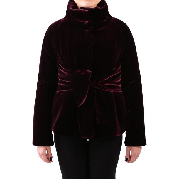 ASPESI jacket velvet oxblood