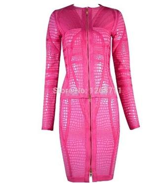 dress pink dress bandage dress sexy dress