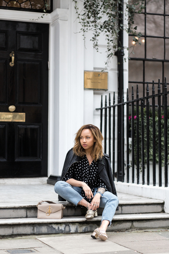 a style diary blogger shirt jeans shoes jacket bag jw anderson bag