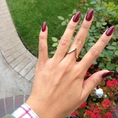 jewels,ring,gold,gold ring,chevron,chevron ring,v ring,gold chevron ring,gold v ring
