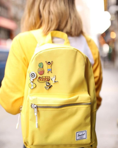 98569778e0b9 bag herschel supply co. backpack yellow back to school herschel supply co. school  bag