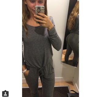 jumpsuit grey jumpsuit
