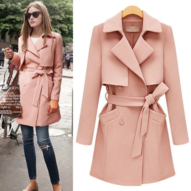 Coat: jumpsuit, fashion, beautiful, preppy, wool coat, trench coat ...