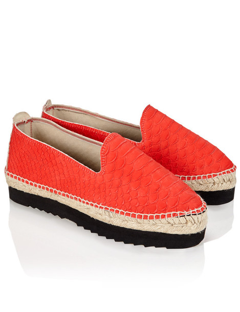 Manebi espadrilles leather red