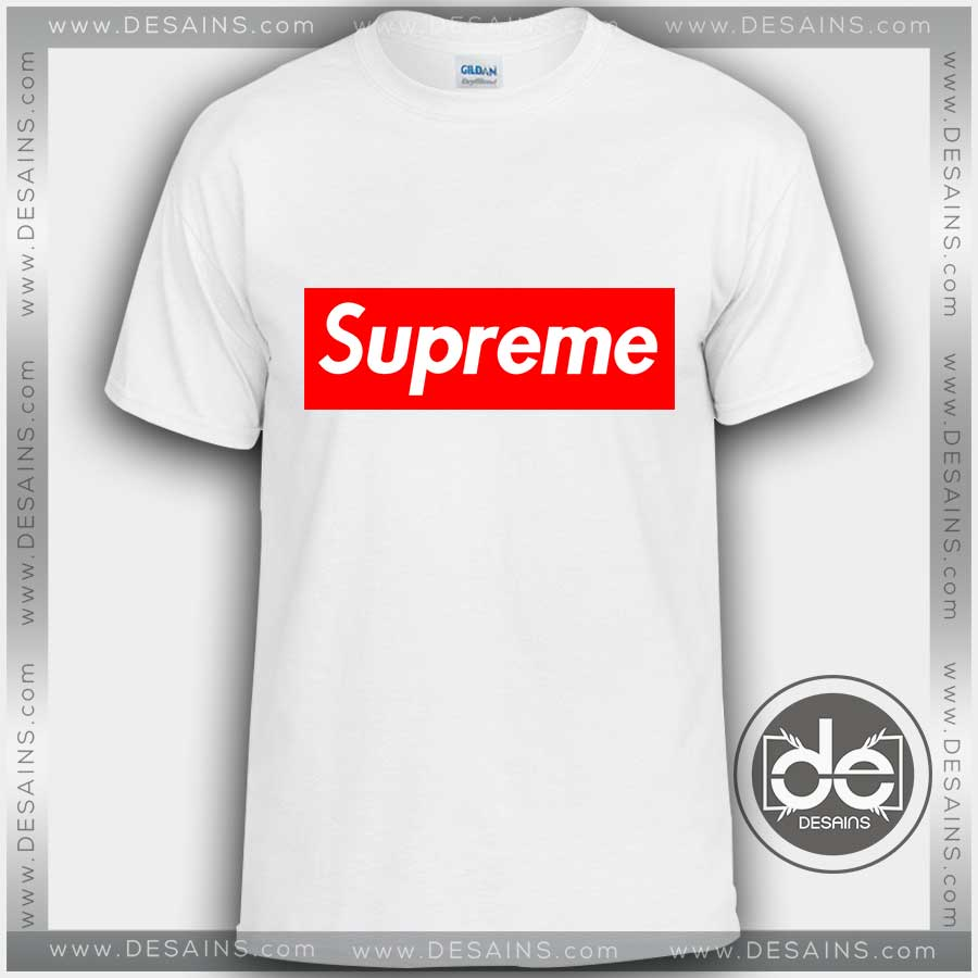 Buy Custom Tshirt Supreme Logo Tshirt Mens and Womens e93eaef8f