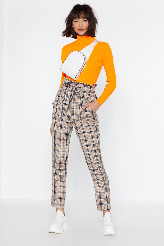 Let's Take a Rain Check Paperbag Pants | Shop Clothes at Nasty Gal!