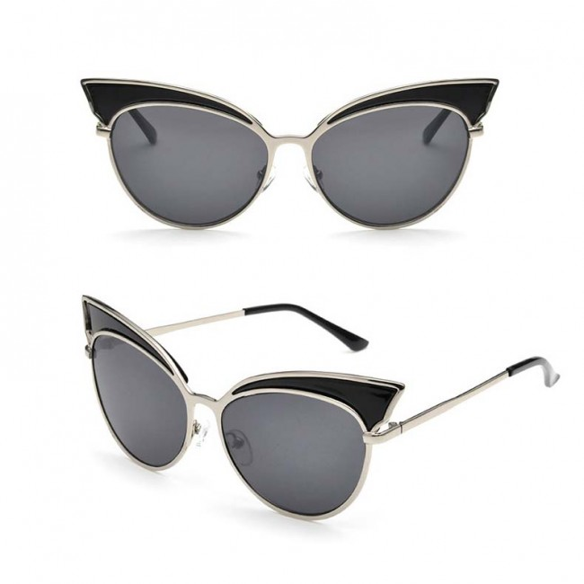 High Pointed Vintage Ladies Fashion Cat Eye Sunglasses