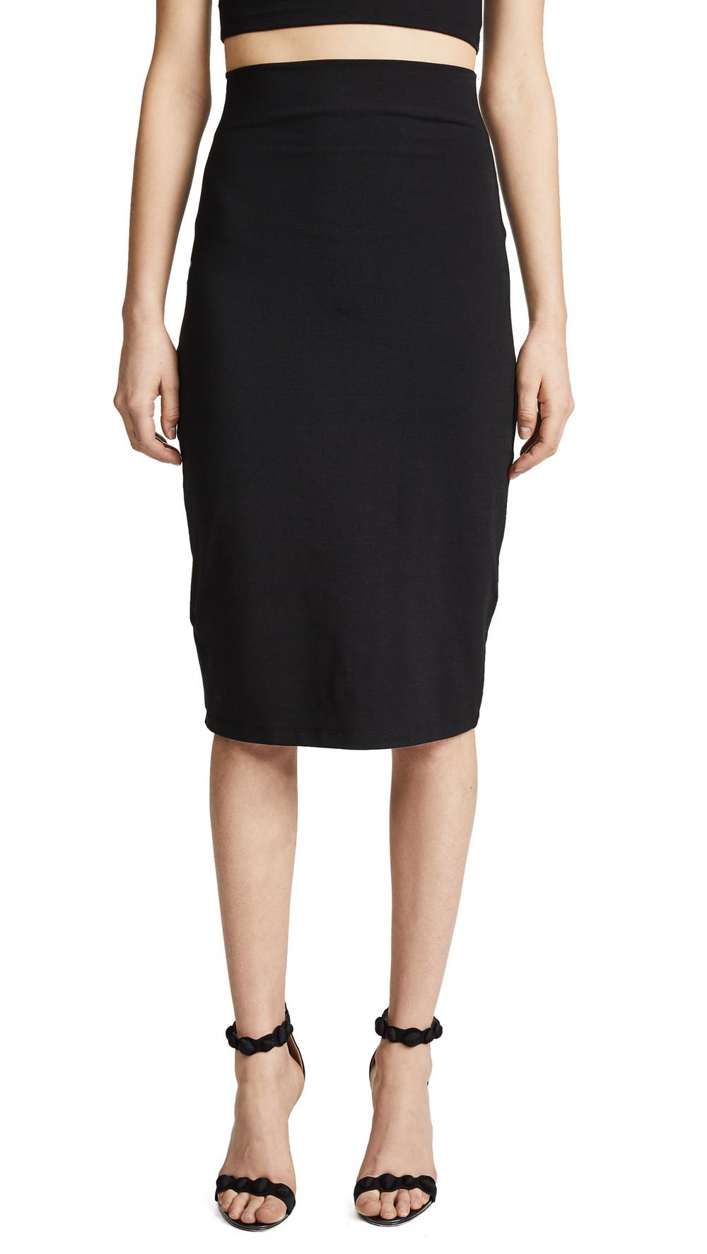 Susana Monaco Noella Pencil Skirt in black