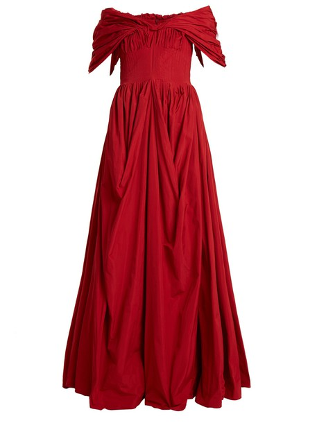 Brock Collection gown red dress