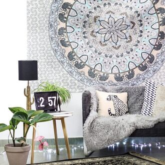 home accessory yeah bunny tapestry boho oriental mandala
