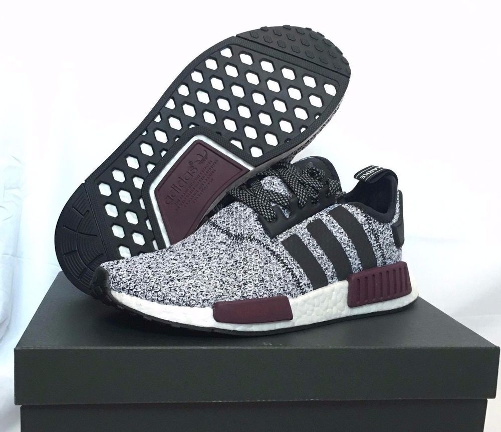 adidas NMD R1 PK Primeknit Tri Color Black US 10.5 UK 10 EU 44.5