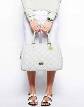 Marc B | Marc b Melanie Large Bowler Bag With Douple Zip at ASOS