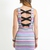 Multi Day Dress - Tribal Print Sleeveless Dress with | UsTrendy