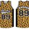 Basketball leopard jersey