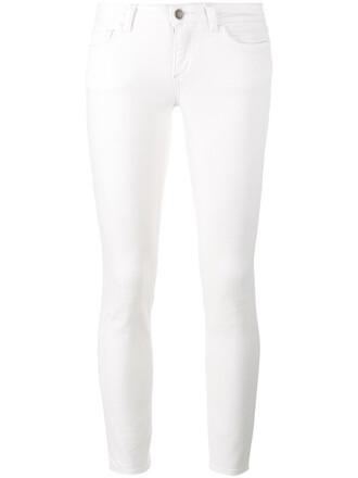 jeans skinny jeans women pineapple spandex white cotton