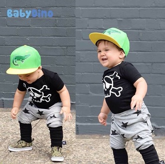 pants swag stars joggers skull t-shirt kids with swag vans fashion kids fashion